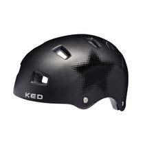 Fietshelm KED Risco L (57-62cm) - mat zwart