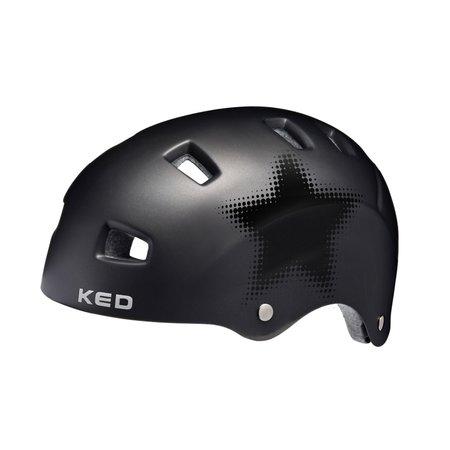 KED Fietshelm KED Risco L (57-62cm) - mat zwart