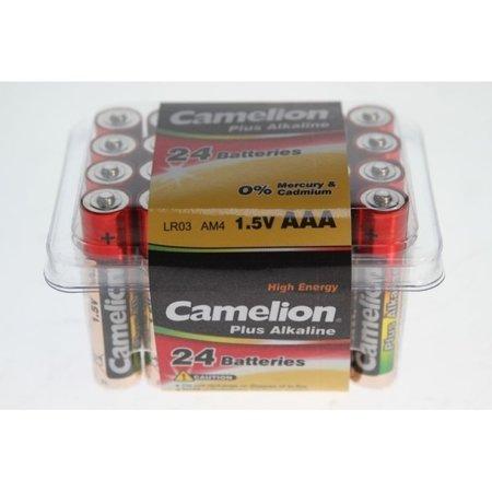CAMELION Batterij R03/AAA Alkaline (box a 24 stuks)