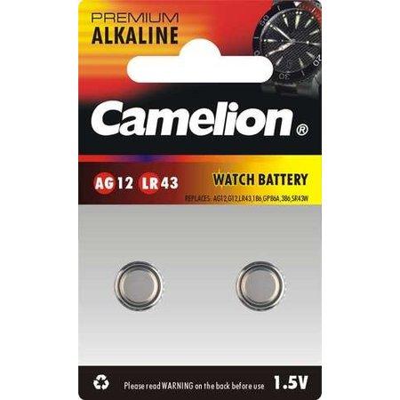 CAMELION Batterij Camelion V12GA - LR43  (2-stuks)