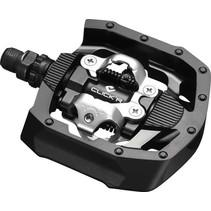 Pedaalset Click'R dubbelzijdig SPD PD-MT50 - zwart