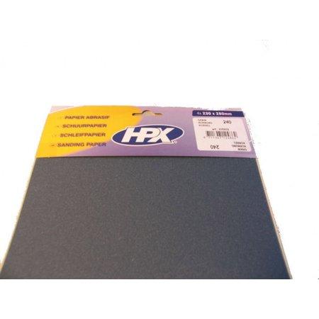 HPX Schuurpapier HPX korrel 400 (4 stuks)