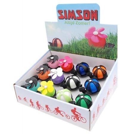 SIMSON Bel display assorti inhoud 12 stuks 020157