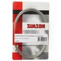 Simson bnkabel rem uni 2.35m RVS