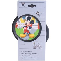 """Zijwielen Mickey Mouse voor 12½"""" - 18"""" fietsen"""
