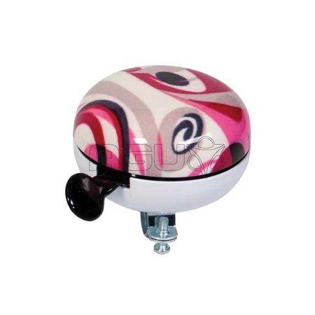 WIDEK Bel ding dong groot 80mm art coll fusion roze krt