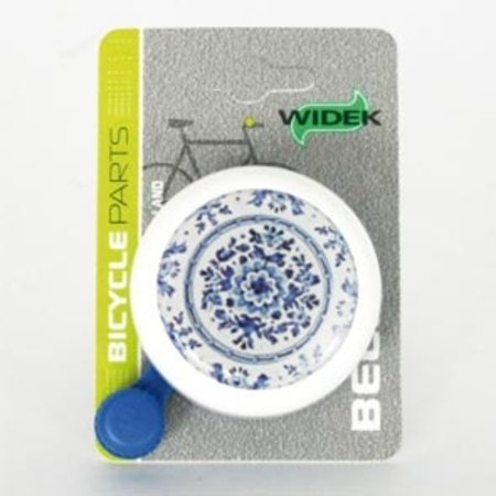 WIDEK Bel white collection delfts blauw op kaart