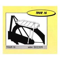 """DRAGER A 28"""" STECO TOUR Z/STANDAARD ZW"""