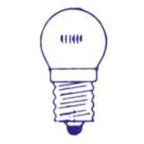LAMP  6V 3W E10 LED FIETS ACHTER DS A 10
