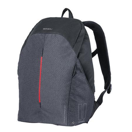 BASIL Basil backpack B-safe led graphite black