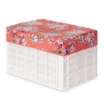Afdekhoes voor krat Crate-Cover Blossom Large