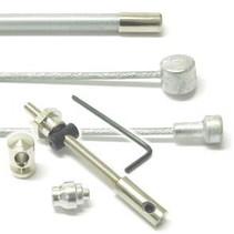 Achterremkabel Trommel compleet TA15-6269 Zilver