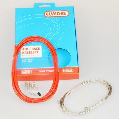 ELVEDES Elvedes remkabel kit ATB/RACE red