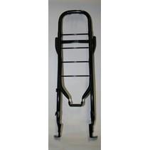 "Bagagedrager28"" staal 66cm 001 black met klapst"