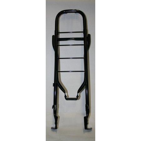 "Gazelle Bagagedrager28"" staal 66cm 001 black met klapst"