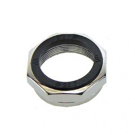 BOFIX Balhoofd bovenmoer ø22.2mm - chroom (6 stuks)