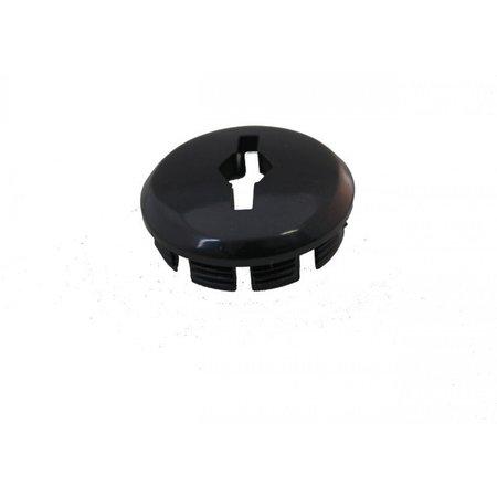 MERKLOOS Crankdop kunststof - zwart (25 stuks)