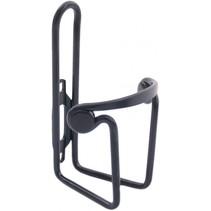 Bidonhouder ø6mm met slipdop - aluminium - zwart