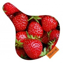 Zadeldek BikeCap Strawberries
