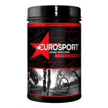 Eurosport Sports Drink Isotone aardbei - 600 gram