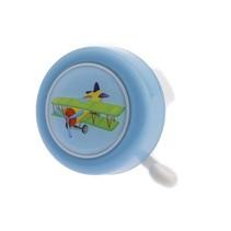 PexKids kinderbel 'Ik ben een vliegtuig' - blauw