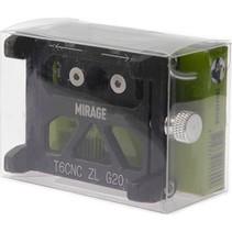 Mirage telefoonhouder alu m/bracket black