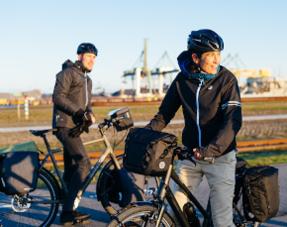 Sportieve fietstassen