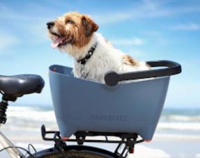 Honden fietsmanden