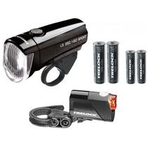Verlichtingset LS350 + LS710 I-Go Sport - Zwart