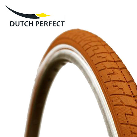 "DUTCH PERFECT Buitenband 28x1,40"" / 37-622 No Puncture - orange"