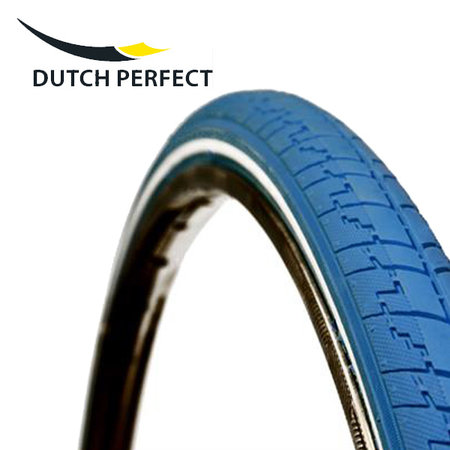 "DUTCH PERFECT Buitenband 28 x 1 ½"" / 40-635 No Puncture - Blauw"