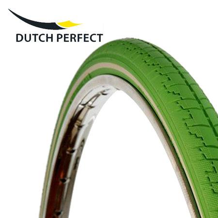 "DUTCH PERFECT Buitenband 28 x 1 ½"" / 40-635 No Puncture - Groen"