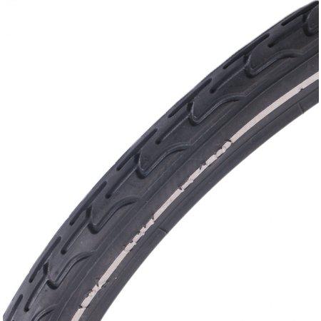 """deli tire Buitenband S-604 24 x 1 3/8"""" / 37-540 - zwart met"""