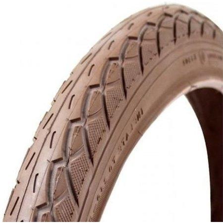 """deli tire Buitenband 24 x 1.75"""" / 47-507 BMX - bruin met"""