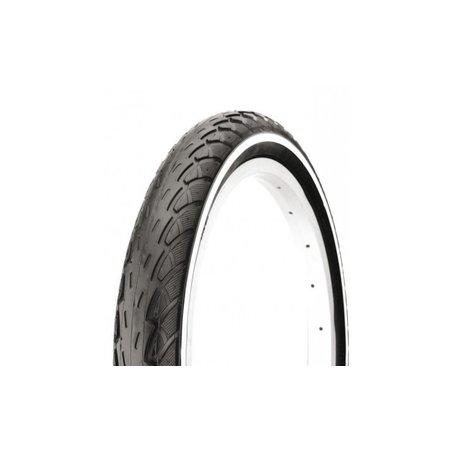 """deli tire Buitenband 18 x 1.75"""" / 47-355 mm - zwart met"""