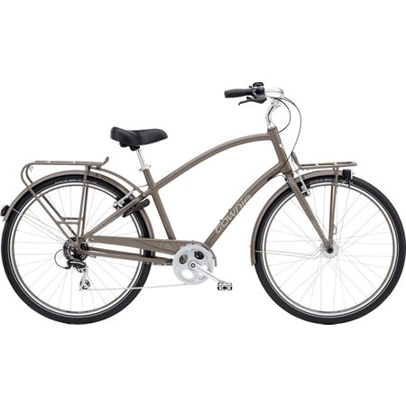 Electra Townie Commute 8D EQ Mens M THUNDER GREY