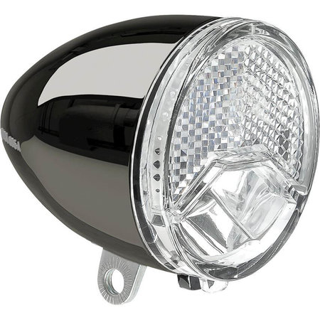 AXA Axa koplamp 606 15 lux Steady Auto dark chrome