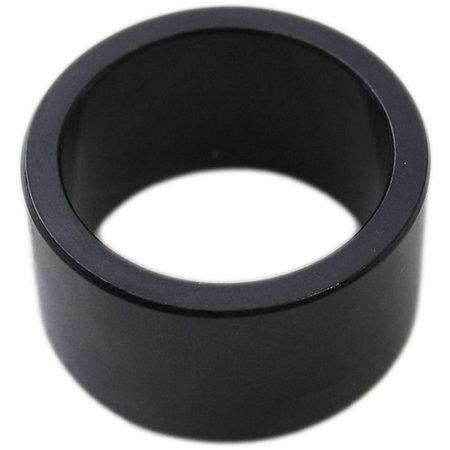 """MERKLOOS Ahead spacer 1-1/8"""" 20 mm - zwart (1 stuk)"""