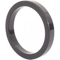 """Ahead spacer 1-1/8"""" 5 mm - zwart (5 stuks)"""