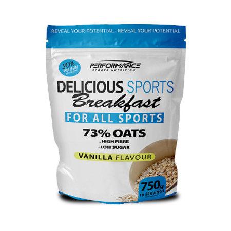 Performance Delicious Sports Breakfast (Vanilla, 750 gram)