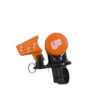 Fietsbel met fluit - oranje