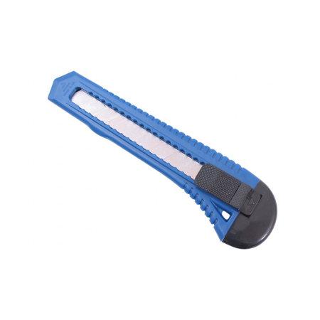 MERKLOOS Afbreekmes Groot Model 18mm Blauw  Plastic