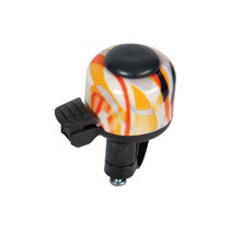 Fietsbel Decibell Art Collection Fusion - oranje