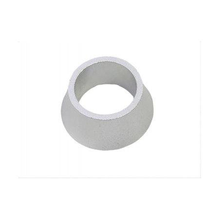 MERKLOOS Ahead specer conisch 1-1/8 inch 20mm zilver