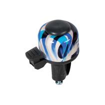 Fietsbel Decibell Art Collection Fusion - blauw