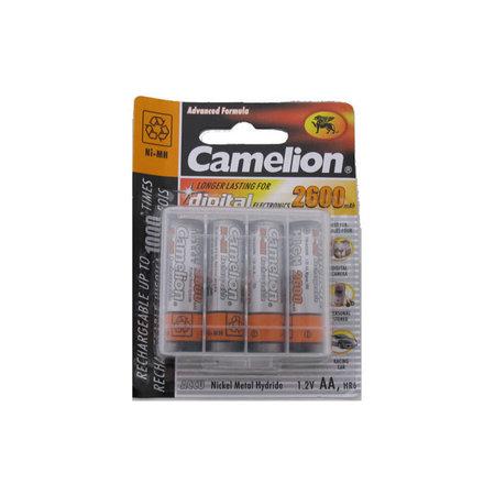 CAMELION Batterij oplaadbaar AA / LR06 NimH 1,5V - 2600 mAh