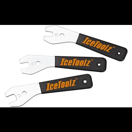 ICETOOLZ Conussleutelset 47X3 - 13, 15 en 17mm (3 stuks)