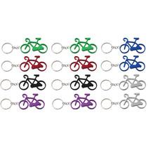 Sleutelhanger aluminium fiets (12 stuks)