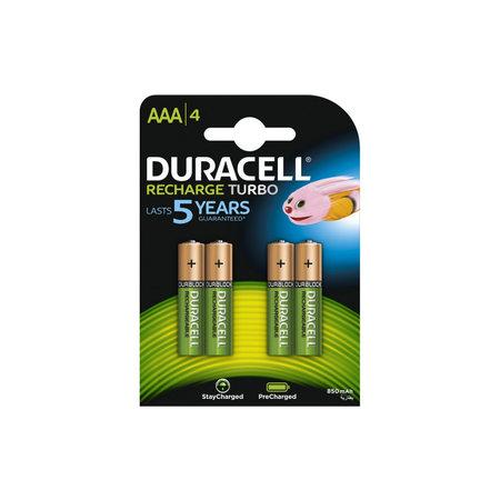 DURACELL Batterij oplaadbaar AAA / HR03 NimH 1.2V - 900 mAh
