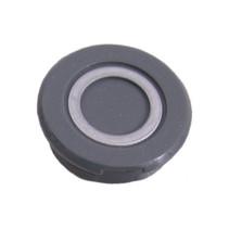 Crankdop kunststof - zilver / grijs (1 stuks)